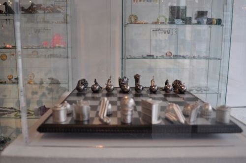 Chess Set by Lynn Christiansen